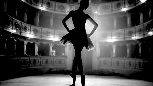 Ballerina confident on stage